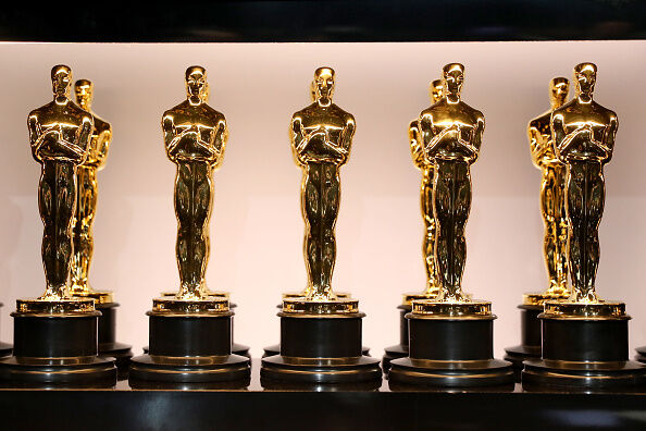 Oscar Trophies - Getty Images