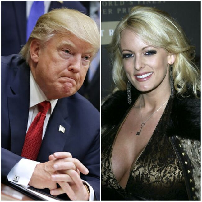 Donald Trump & Stormy Daniels - Getty Images