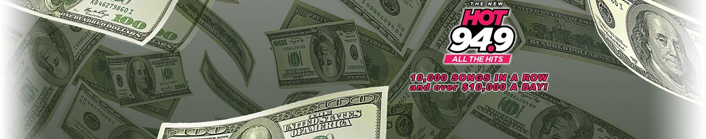 Listen Weekdays From 5am thru 8pm For Your Chance To Score $1000 every hour!