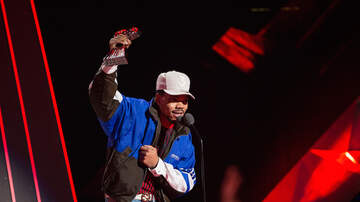 iHeartRadio Music Awards - Pharrell Presents Chance The Rapper with iHeartRadio Innovator Award