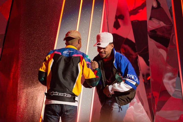 Pharrell Williams, Chance the Rapper