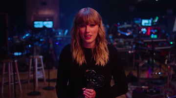 iHeartRadio Music Awards - Taylor Swift Wins iHeartRadio Music Award Female Artist of the Year