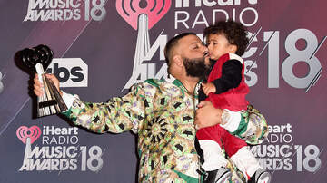 iHeartRadio Music Awards - Asahd Khaled's Cutest Moments at the 2018 iHeartRadio Music Awards