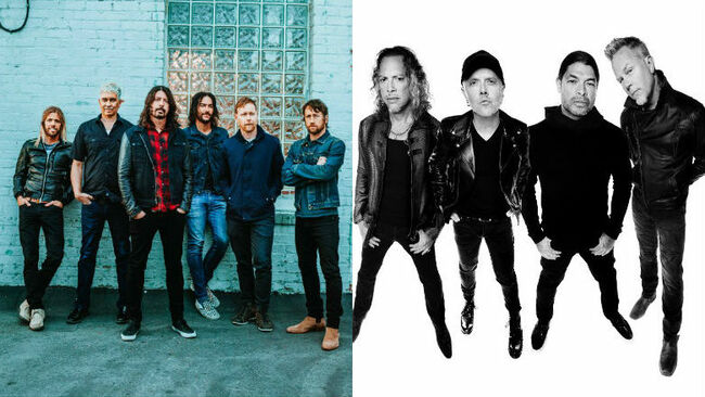 Foo Fighters, Metallica