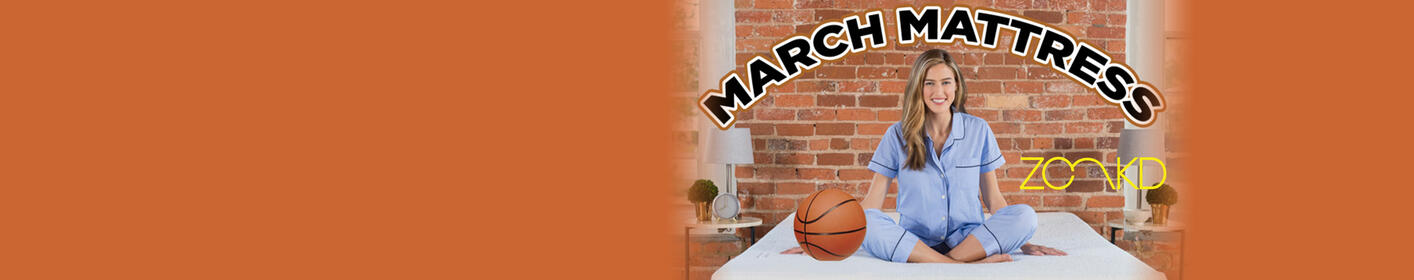 March Mattress!  Download Your Basketball Bracket and Register to Win A New Mattress from Zonkd!