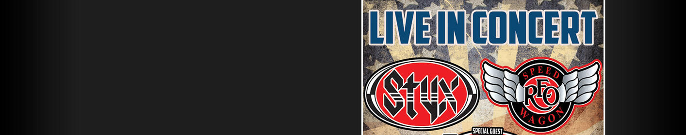 Win Tickets to STYX & REO Speedwagon, April 14 at the Wharf