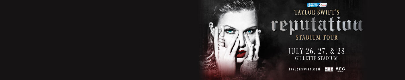Enter to win tickets to see Taylor Swift LIVE at Gillette Stadium!