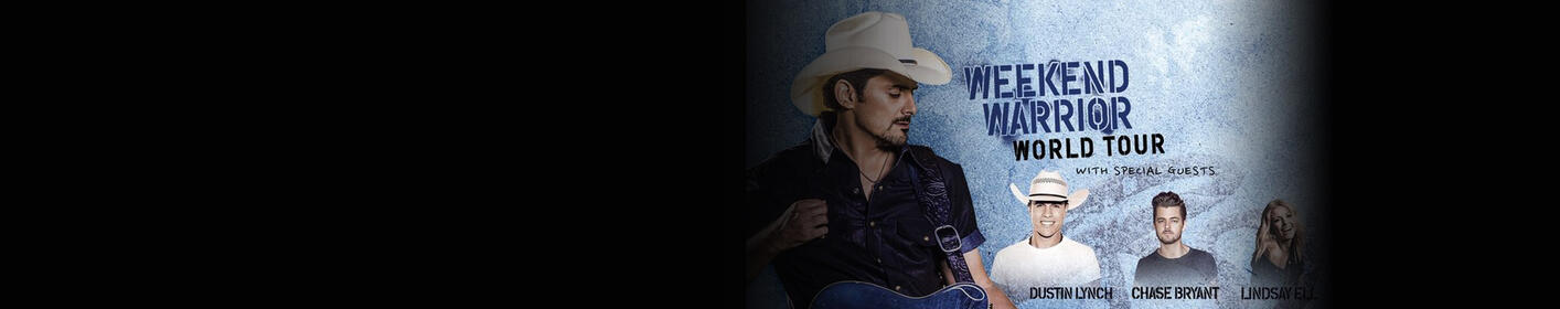 Win a Night in Nashville to go to the Brad Paisley Concert!