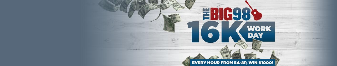 Win $1000 every hour!
