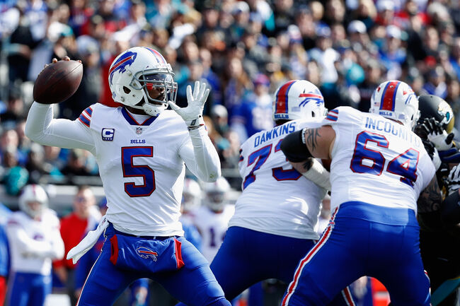 Tyrod Taylor doesn't throw interceptions, but he also doesn't throw many touchdown passes