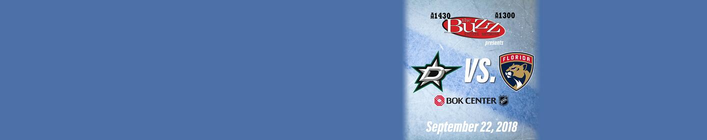 Dallas Stars vs. Florida Panthers at BOK Center