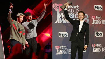iHeartRadio Music Awards - The Chainsmokers & Zedd Take Home iHeartRadio Music Awards