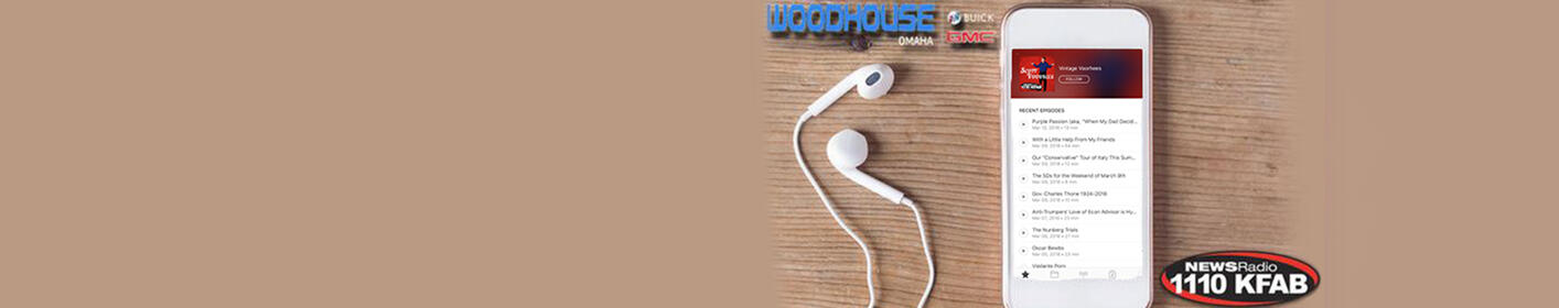 Did you miss Scott Voorhees this morning? Click here to tune in to the Vintage Voorhees podcast sponsored by Woodhouse Buick GMC!