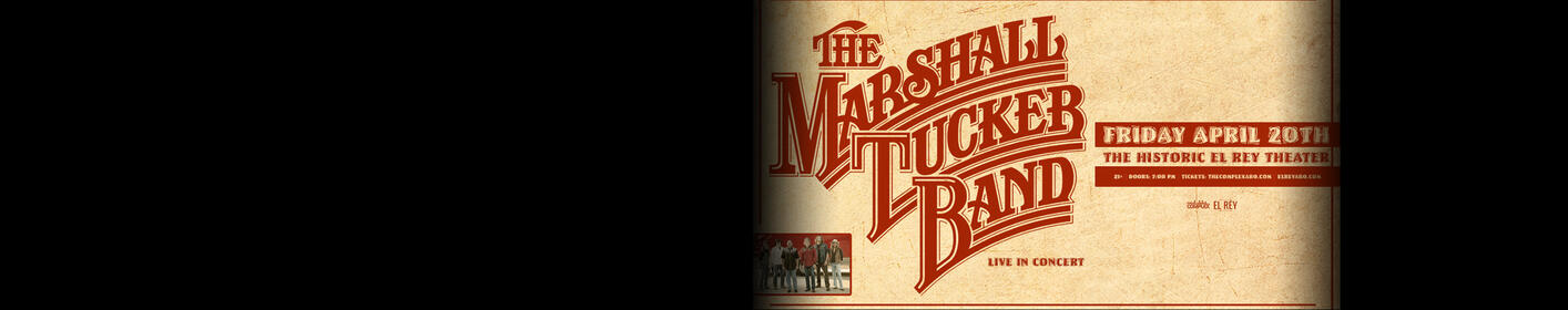 Register to win tickets to the Marshall Tucker Band!
