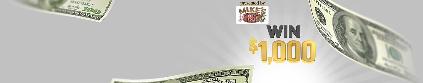 Listen to win $1000 Every Hour!