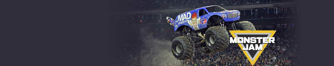 Win A FOUR-PACK Of Tickets To Monster Jam!