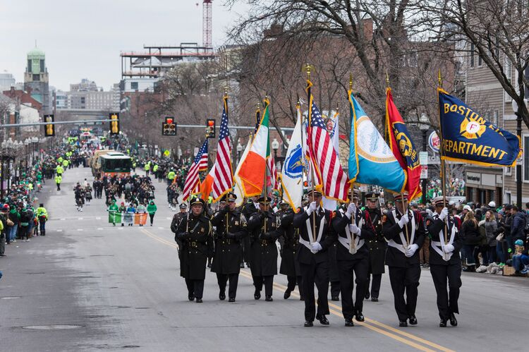 St. Patrick's Day In Boston (Credit: DOMINICK REUTER/AFP/Getty Images))