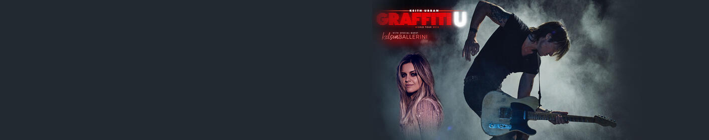 Keith Urban With special guest Kelsea Ballerini GRAFFITI U WORLD TOUR Smoothie King Center Friday, November 2, 2018