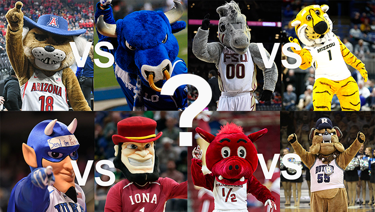 March Madness: Mascot Showdowns Predict The Winner