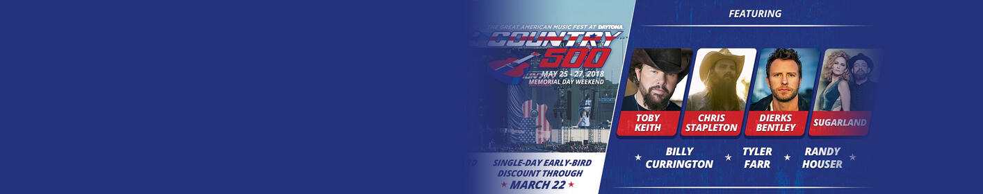 Three Day Tickets to the Country 500