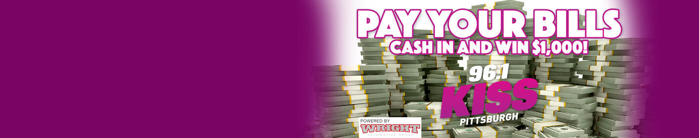 Listen to win $1,000 with 'Pay your Bills'!