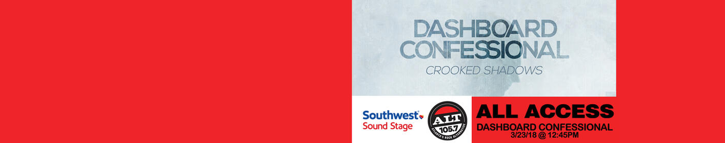 See Dashboard Confessional on the Southwest Sound Stage
