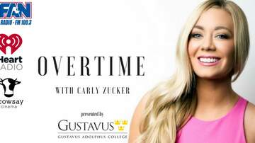 Overtime with Carly Zucker - LISTEN: Overtime With Carly Zucker - MN Vikings TE Kyle Rudolph