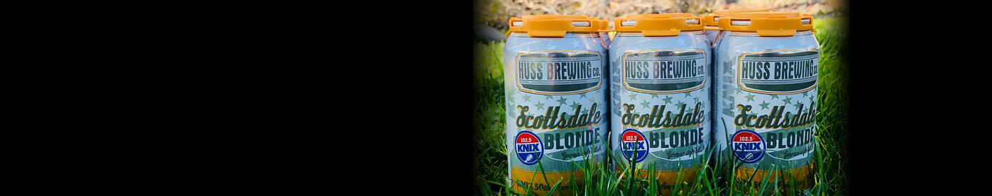 102.5 KNIX and Huss Brewing Debut 'Anniversary Can' To Celebrate 50 Years Of KNIX!