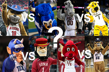 When it comes to filling out brackets for March Madness, some people look at teams' stats while others go with their hearts, but what if we did it based on which of the teams' mascots would win in a fight?