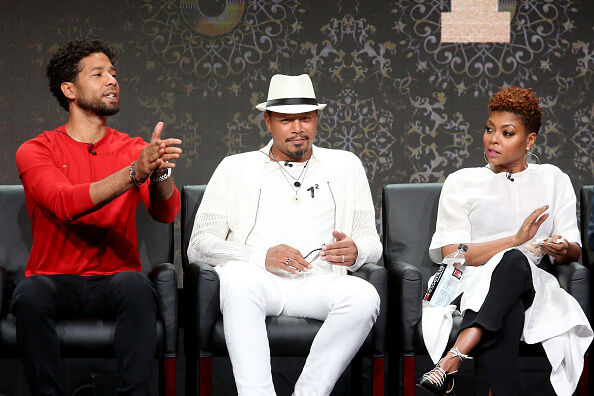 Jussie Smollett, Terrance Howard and Taraji P. Henson - Getty Images