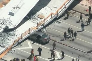 Pedestrian Bridge Collapse - FIU Student Among The Dead