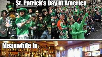 Trevor D in the Morning Show - #Trending-Fri 3/15/19: St. Patty's Day Stats on Drinking-Related Injuries