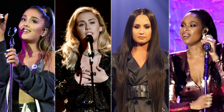 Ariana Grande, Miley Cyrus, Demi Lovato & More To Join March For Our Lives