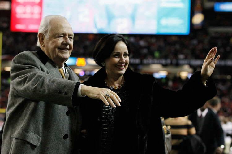 Tom & Gayle Benson Getty