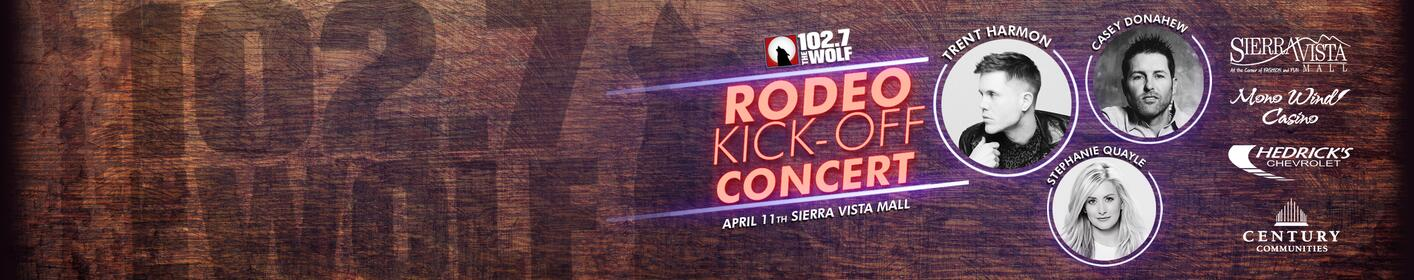 Don't Miss The Rodeo Kick-Off Concert! April 11th At Sierra Vista Mall!