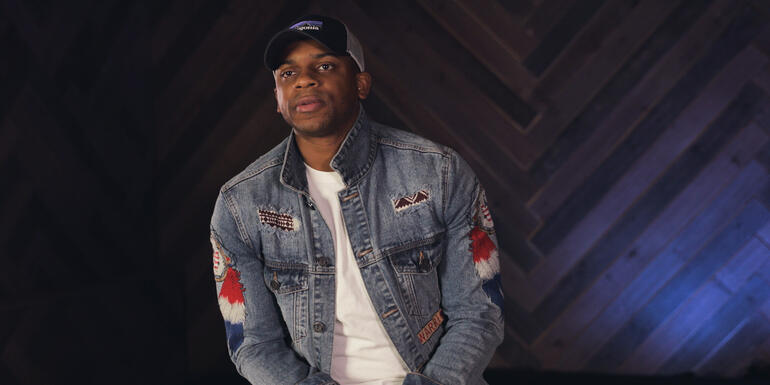 Jimmie Allen Used Songwriting As Therapy (VIDEO)