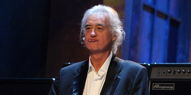 "Jimmy Page Says Despite Technology ""There'll Always Be Fine Musicians"""