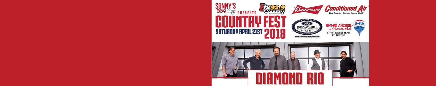 2018 Country Fest with Diamond Rio