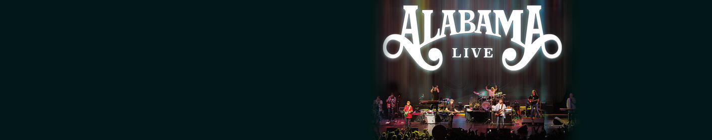 Win Your Tickets to See ALABAMA perform at Brandon Amphitheater!
