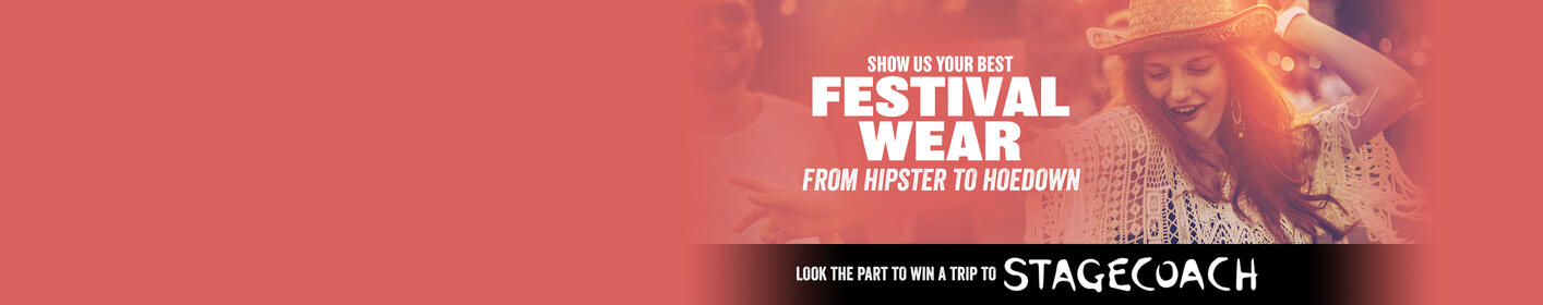 Send us your favorite festival outfit pic to win a trip!