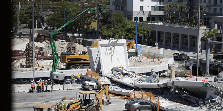 Engineer Warned Of Crack 2 Days Before Miami Bridge Collapse