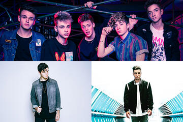 Why Don't We + LAUV + Logan Henderson answer your Qs