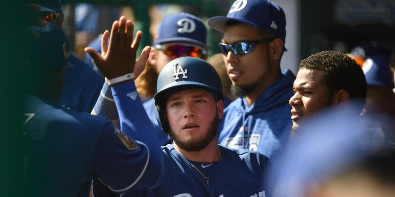 Alex Verdugo Learning From Veteran Dodgers This Spring