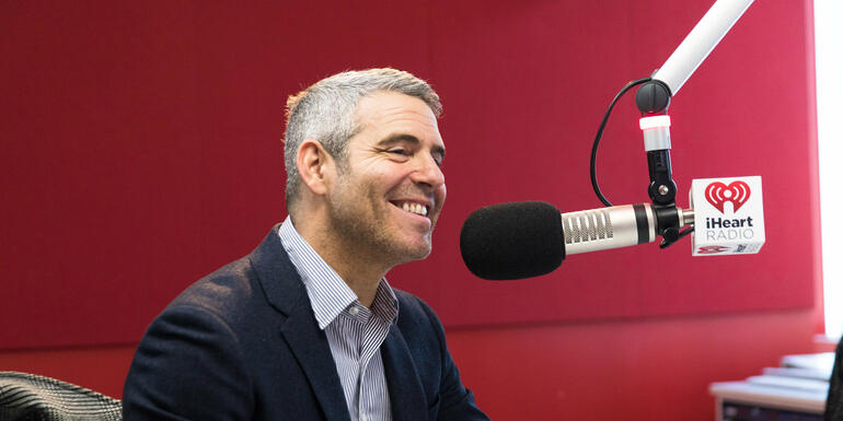Andy Cohen on Why His New Year's Resolution was to Unplug from Social Media
