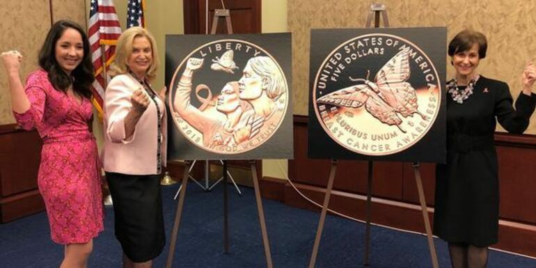 The U.S. Released Its First Ever Pink Coin