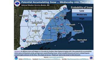Storm Center - Not Another One: Nor'easter Could Hit Wednesday
