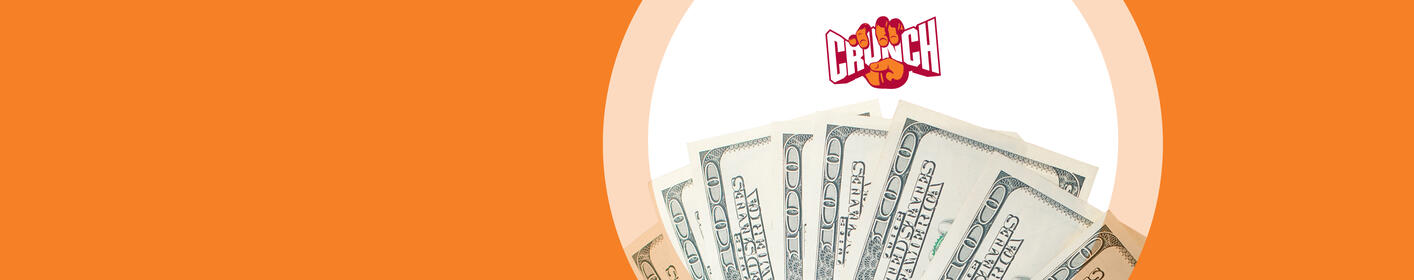 Enter To Win A Turn In The Crunch Cash Cube!