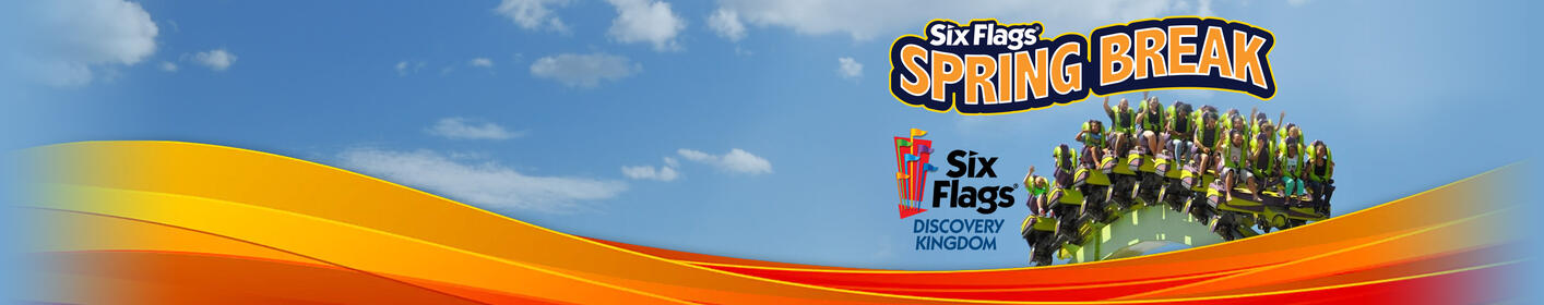 Listen at 12:55pm & 6pm to win tickets to Six Flags Discovery Kingdom for Spring Break!