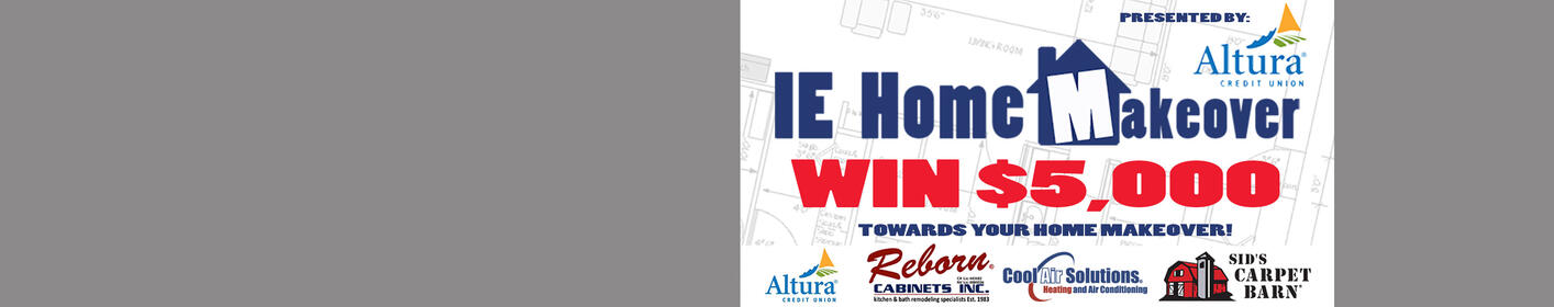 Win $5,000 Towards a Home Makeover!