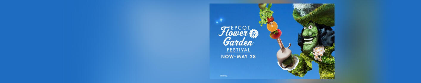 You Could Win Tickets to the Epcot International Flower & Garden Festival!